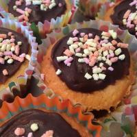 Cupcakes glaçage chocolat