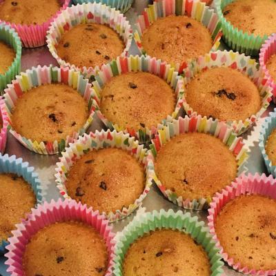 cupcakes pépites chocolat