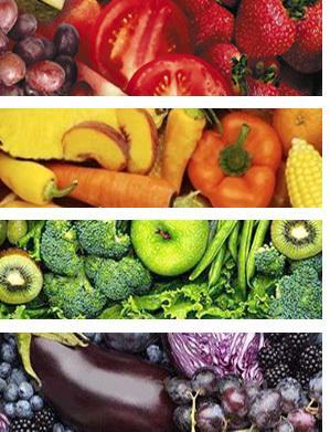 Le gumes et fruits